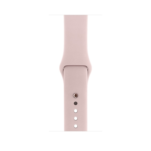 Часы Apple Watch Series 1 42mm Rose Gold Aluminium Case with Pink Sand Sport Band (MQ112)