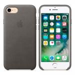 Чехол-накладка Apple iPhone SE 2/ 8 / 7 Leather Case Original
