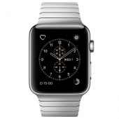 Часы Apple Watch Series 2 42mm Stainless Steel Case with Silver Link Bracelet (MNPT2)
