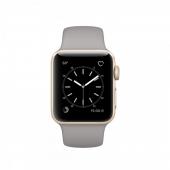 Часы Apple Watch Series 2 38mm Gold Aluminum Case with Concrete Sport Band (MNP22)