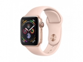 Б/У Apple Watch Series 4 GPS + LTE 44mm Gold Alum. w. Pink Sand Sport b. Gold Alum. (MTV02, MTVW2) - идеал 5/5