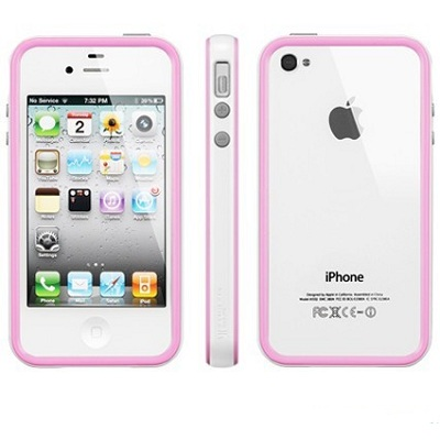 SGP Case Neo Hybrid 2S Pastel Series Alpine Pink for iPhone 4/4S