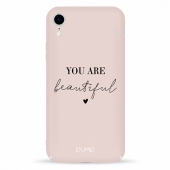 Чехол Pump Tender Touch Case for iPhone You Are Beautiful