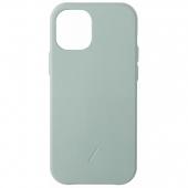 Чехол накладка Native Union Clic Classic Case for iPhone 12 Mini, Sage (CCLAS-GRN-NP20S)