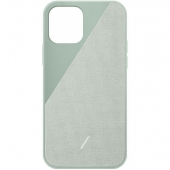 Чехол накладка Native Union Clic Canvas Case for iPhone 12/12 Pro, Sage (CCAV-GRN-NP20M)