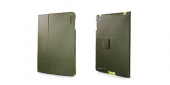 Capdase Protective Case Folio Canvas Green/Yellow for iPad 2/3/4 (SLAPIPAD2-P36E)