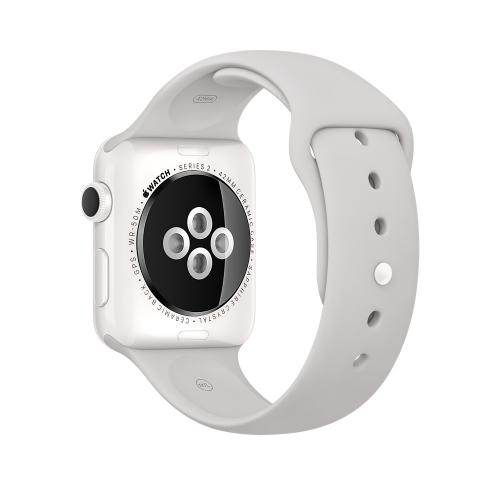 Часы Apple Watch Edition 42mm White Ceramic Case with Cloud Sport Band (MNPQ2)