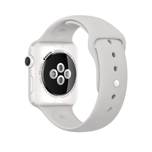 Часы Apple Watch Edition 42mm White Ceramic Case with Cloud Sport Band (MNPQ2)