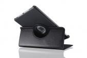Черный кожаный чехол Magnetic 360 для iPad Air 2