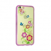 Чехол-накладка Remax Osaka Series Summer Flowers for iPhone 7 Plus