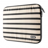 Incase Striped Canvas Sleeve Black for MacBook