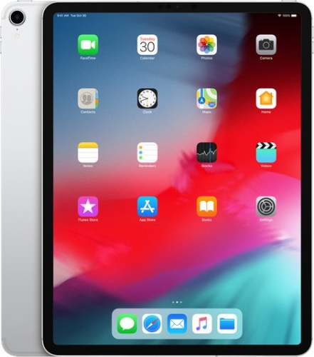 Планшет Apple iPad Pro 11 2018 Wi-Fi + Cellular 512GB Silver (MU1M2, MU1U2)