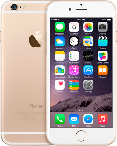 used Apple iPhone 6S 128Gb (Gold)