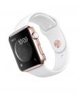 Часы Apple Watch Edition 42mm 18-Karat Rose Gold Case with White Sport Band (MJ4A2)
