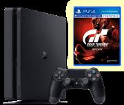 Playstation Slim 1 TB + Gran Turismo Sport