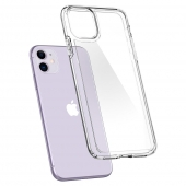 Чехол Spigen Ultra Hybrid for iPhone 11 Crystal Clear