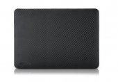 Tunewear Carbonlook plastic case with pu coat for Macbook Air 13