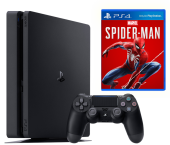 Игровая приставка Sony PlayStation 4 Slim (PS4 Slim) 500GB + Spider-Man