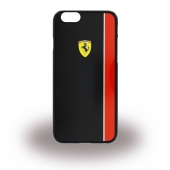 Чехол Ferrari Scuderia Hard Case Glossy Black And Red for iPhone 6/6S (FEBKSHCP6BK)