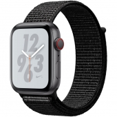 Apple Watch Nike+ Series 4 GPS + LTE 40mm Gray Alum. w. Anthracite/Black Nike Sport b. Gray Alum. (MTX92)