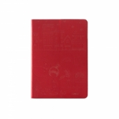 iPearl KiKi Leather Cover Pure Red for iPad Air (IP13-ADF-08504B)