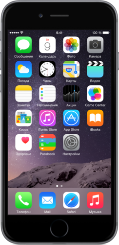 Apple iPhone 6 64GB Space Gray (Slim Box)
