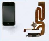 """Шлейф с разъемом зарядки и кнопкой """"Home"""" (charger flat cable) iPhone 2G  copy"""