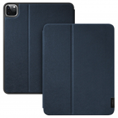 LAUT Prestige Folio for iPad Pro 11 (2020/2018)with Pencil Slot,  Indigo (L_IPP20S_PR_BL)