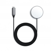 Satechi USB-C Magnetic Wireless Charging Cable, Space Grey (ST-UCQIMCM)