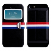 Чехол-книжка Momax Stand View European Style Case for iPhone 5/5S