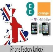 UK Orange / T-mobile / EE iPhone 3G / 3GS / 4G / 4GS / 5 ( Premium Service )