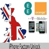 UK Orange / T-mobile / EE iPhone 3G / 3GS / 4G / 4GS / 5 ( Premium Service )