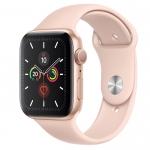 АКЦІЯ!!! Б/У Apple Watch Series 5 40mm Gold Aluminium Case with Pink Sand Sport Band (MWV72) - Новый, актив, весь комплект