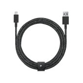 Native Union Belt 3m Cable XL Lightning, Cosmos Black (BELT-L-CS-BLK-3-NP)