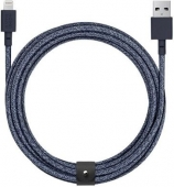 Native Union Belt 3m Cable XL Lightning, Indigo (BELT-L-IND-3-NP)