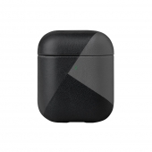 Чехол Native Union Marquetry Case for Airpods Black (APCSE-MARQ-BLK)