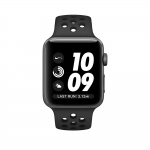 Часы Apple Watch Nike+ 38mm Space Gray Aluminum Case with Anthracite/Black Nike Sport Band (MQ162)