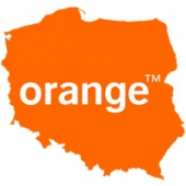 Poland Orange iPhone 3G / 3GS / 4 / 4S / 5 / 5S / 5C