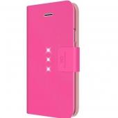 Чехол-книжка White Diamonds Crystal Wallet Pink for iPhone 6