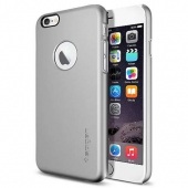 Spigen SGP Case Thin Fit A Series for iPhone 6/6S, Satin Silver