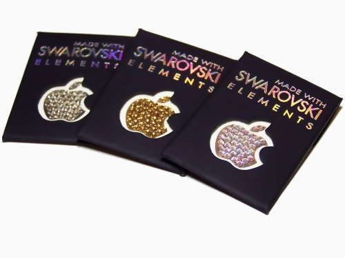SWAROVSKI APPLE LOGO Яблучка Сваровски