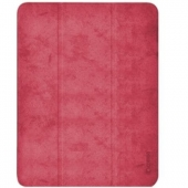 Comma Leather Case for iPad Pro 11 3rd Gen 2021 M1, Red