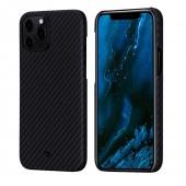 Pitaka MagEZ Case for iPhone 12 Pro Max, Black/Grey (KI1201PM)
