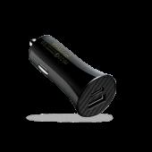Автомобильное ЗУ Pitaka Smart Car Charger Adapter 36W (PD & QC), Black
