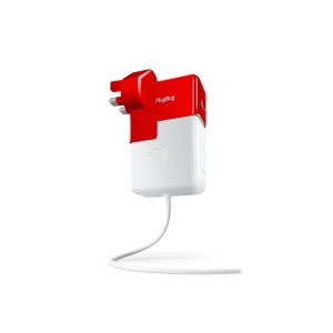 Twelvesouth PlugBug World White/Red for iPad/iPhone (TWS-12-1211)