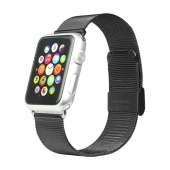 Ремешок iBacks Double-buckle Stainless Steel Watchband for Apple Watch 42mm