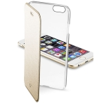 Чехол-книжка Cellular Line Book Clear for iPhone 6