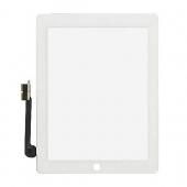 Сенсорное стекло для iPad 4 (белое)