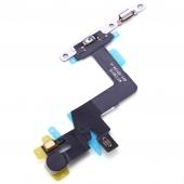 Шлейф с кнопкой включения, микрофоном, кнопками регулировки громкости и вспышкой для iPhone 6S Plus Original