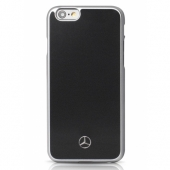 Чехол Mercedes Metallic Plate Hard Case for iPhone 6/6S (MEHCP6BK)